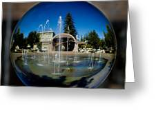 Chico City Plaza Greeting Card