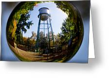 Chico Water Tower Greeting Card