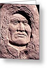 Chief-gall Greeting Card