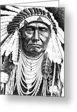 Chief-joseph Greeting Card