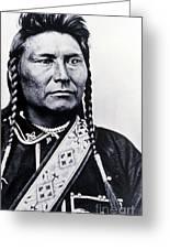 Chief Joseph Nez Perce Leader Greeting Card
