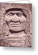 Chief-kicking-bird Greeting Card