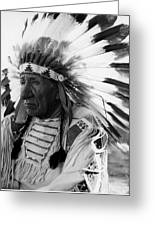 Chief Red Cloud Greeting Card
