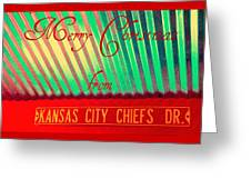 Chiefs Christmas Greeting Card