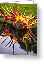 Chihuly Float Greeting Card