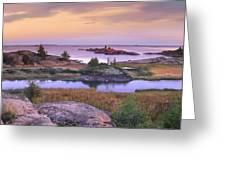 Chikanishing Creek Killarney Provincial Greeting Card