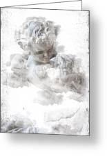 Child Cherub Greeting Card