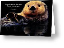Child In Your Heart Greeting Card