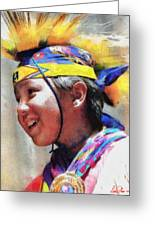 Child Of The Forest 1 Greeting Card by Lester Phipps