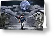 Child Of The Moon Greeting Card