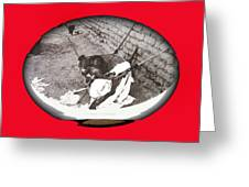 Child Tohono O'odham Hammock #2  Unknown Location And Date - 2013. Greeting Card
