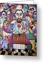 Childern A Gift From God Greeting Card by Anthony Falbo