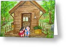 Childhood Retreat Greeting Card