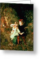 Children In The Wood Greeting Card