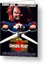 Childs Play 2  Greeting Card