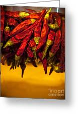 Chili Oil Greeting Card