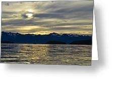 Chilkat Sunset Greeting Card
