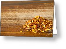 Chilli Seeds Greeting Card