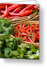 Chillies 04 Greeting Card