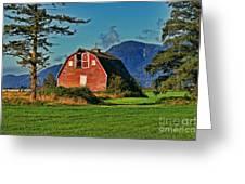 Chilliwack Barn Greeting Card