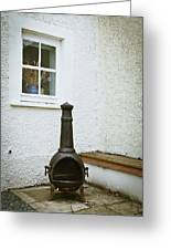 Chiminea Greeting Card