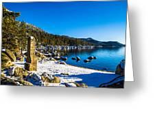 Chimney Beach - Lake Tahoe Greeting Card