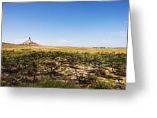 Chimney Rock - Bayard Nebraska Greeting Card
