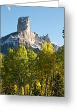 Chimney Rock - Colorado  Greeting Card