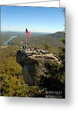 Chimney Rock II Greeting Card