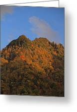 Chimney Tops In Smoky Mountains Greeting Card
