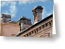 Chimneys In French Quarter Greeting Card