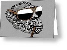 Chimp 6 Greeting Card