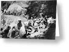China Burma Road, 1944 Greeting Card