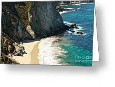 China Cove At Point Lobos State Beach Greeting Card