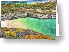 China Cove Paradise Greeting Card