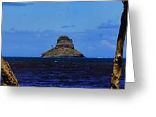 Chinaman's Hat Island-kane'ohe Bay Oahu Hawaii Greeting Card