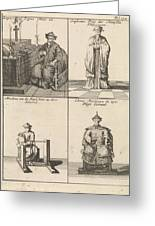 Chinese Clergyman, Chinese Philosopher, Chinese Craftsman Greeting Card