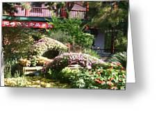 Chinese Garden Greeting Card