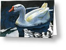Chinese Waterfowl Greeting Card
