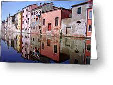 Chioggia Greeting Card by Giorgio Darrigo
