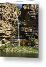 Chipetal Falls Greeting Card