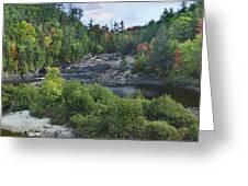 Chippewa River Ontario Canada Greeting Card