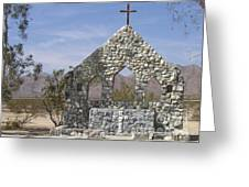 Chiriaco Summit Chapel Greeting Card