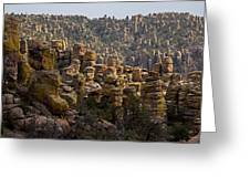 Chiricahua National Park - The Grotto 02 Greeting Card