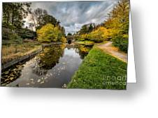 Chirk Canal Greeting Card