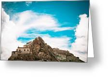 Chiu Monastery Near Lake Manosarovar Greeting Card by Raimond Klavins