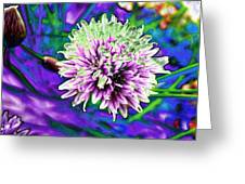 Chive Greeting Card by Jo Ann