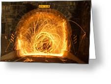 Choas Tunnel Greeting Card