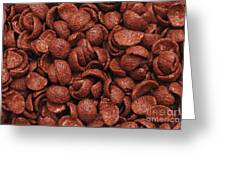 Chocolate Cereals Greeting Card