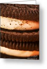 Chocolate Cookies Greeting Card